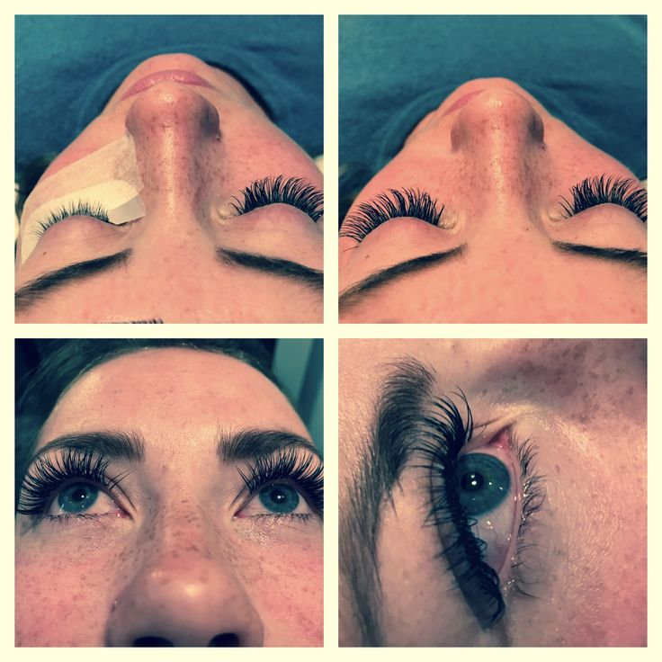 Before and after Lash Perfect C curl 0.20x12 mm