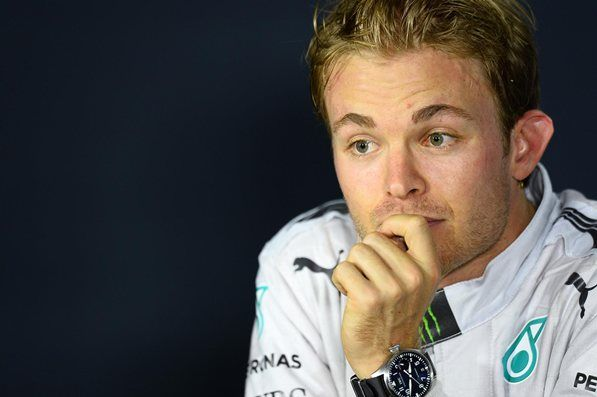 Second placed Nico Rosberg (GER) Mercedes AMG F1 in the post-race Press Conference. Formula One World Championship, Rd13, Italian Grand Prix, Monza, Italy, Race Day, Sunday, 7 September 2014