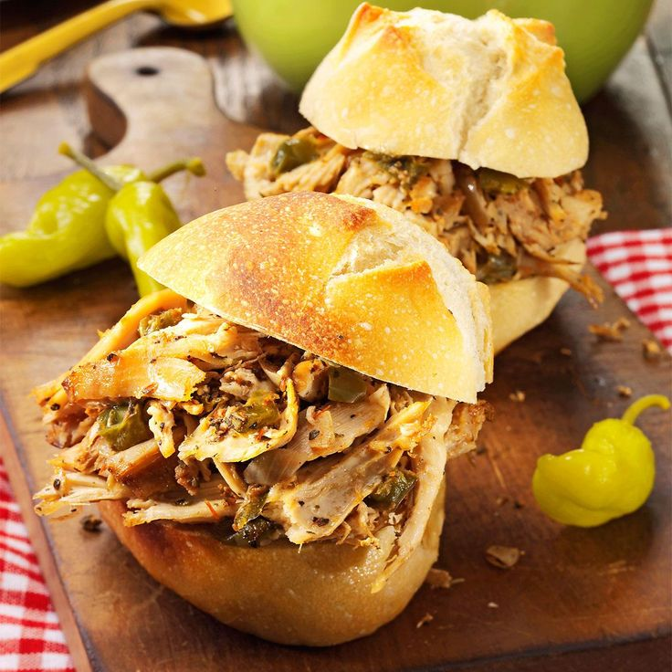 Italian Turkey Sandwiches Recipe -I hope you enjoy these tasty turkey sandwiches as much as our family does. The recipe makes plenty, so it's great for potlucks. Plus, the leftovers are just as good. —Carol Riley, Ossian, Indiana