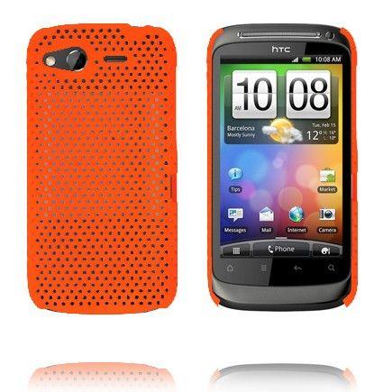 Atomic (Orange) HTC Desire S Cover