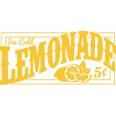 Burton Avenue: Freebie Friday - Lemonade Sign