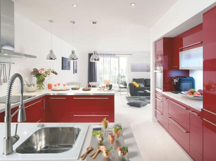 Les 25 meilleures id es de la cat gorie meuble de cuisine conforama sur pinte - Idee deco cuisine ouverte ...