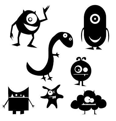 KLDezign SVG: Monsters .. free