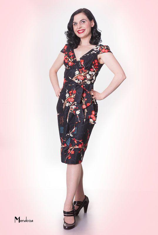 Hawaiian Wrap Around Dress Style By Limb Clothing