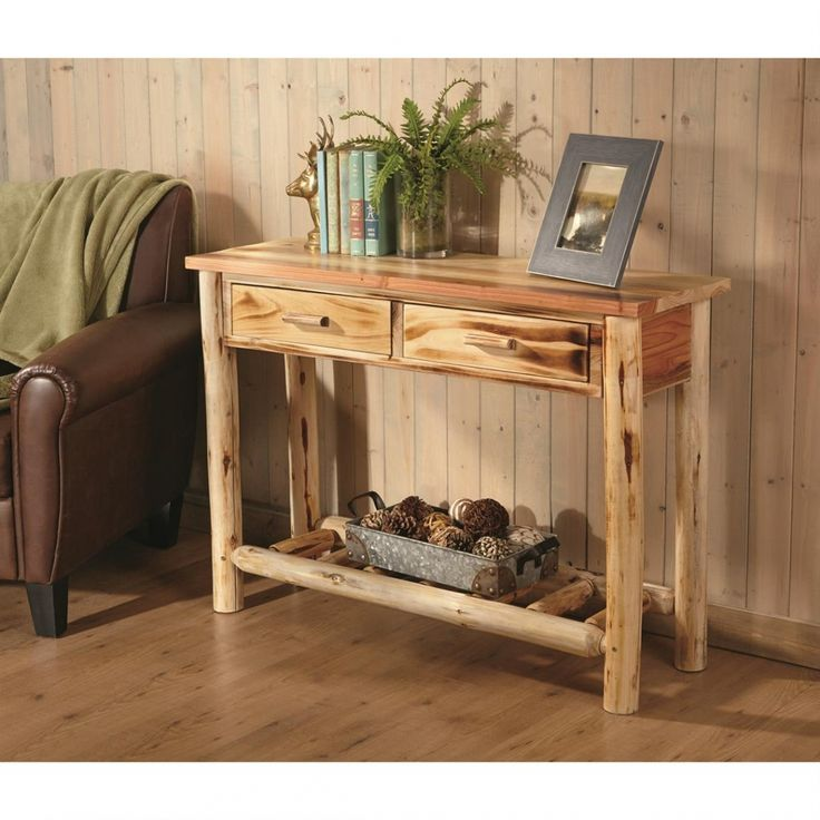 log end table - complete living room sets Check more at http://www.buzzfolders.com/log-end-table-complete-living-room-sets/