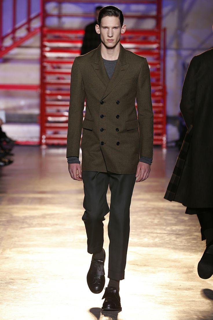 CERRUTI 1881 PARIS FW 14-15 Men's Fashion Show - Look 24