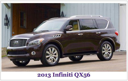 New 2015 Infiniti Qx56