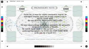 New Promissory Note