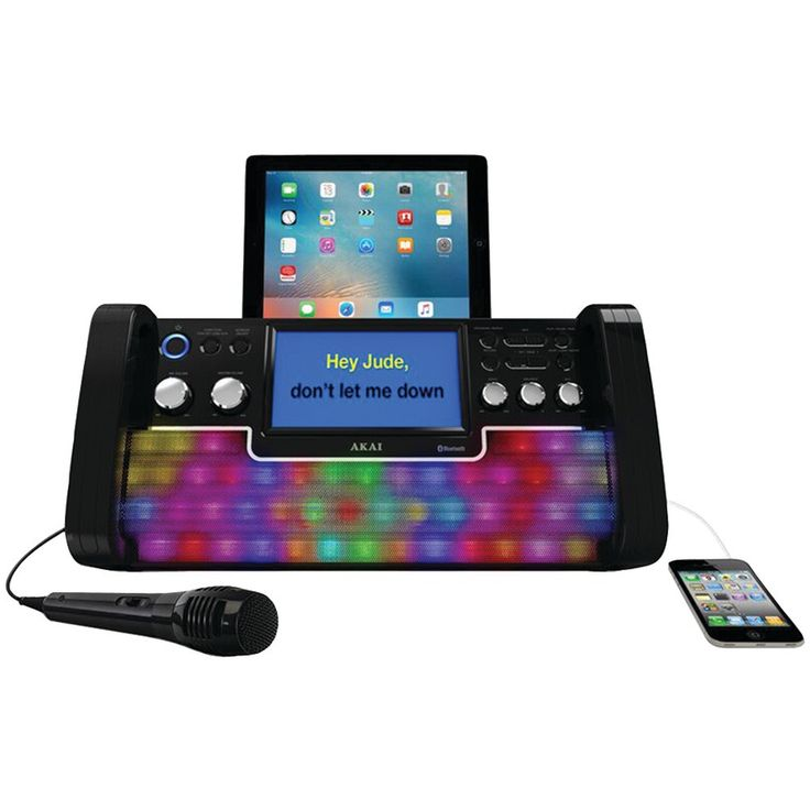 Akai Cd+g Bluetooth Karaoke System