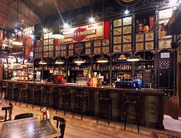 mejores bares moteros madrid daytona road side cafe