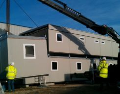 New modular buildings are an ideal solution as a method of construction. They can comply to the current building regulations and you have the flexibility of choosing where things are sited for your convenience.