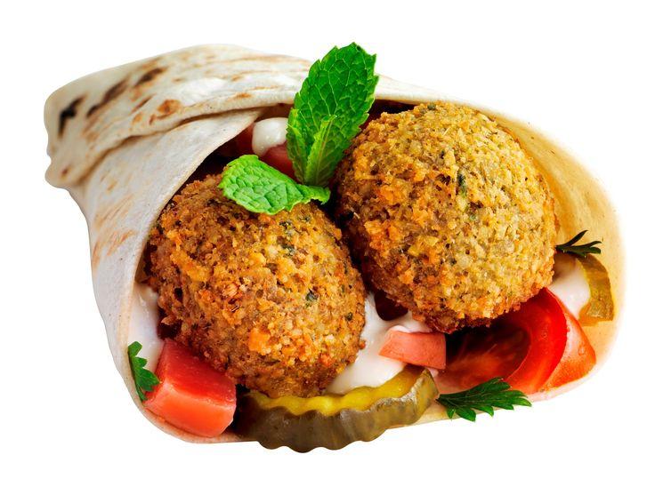 How To Make Lebanese Falafel - Sandwich Falafel -  طريقة تحضير الفلافل ـ...