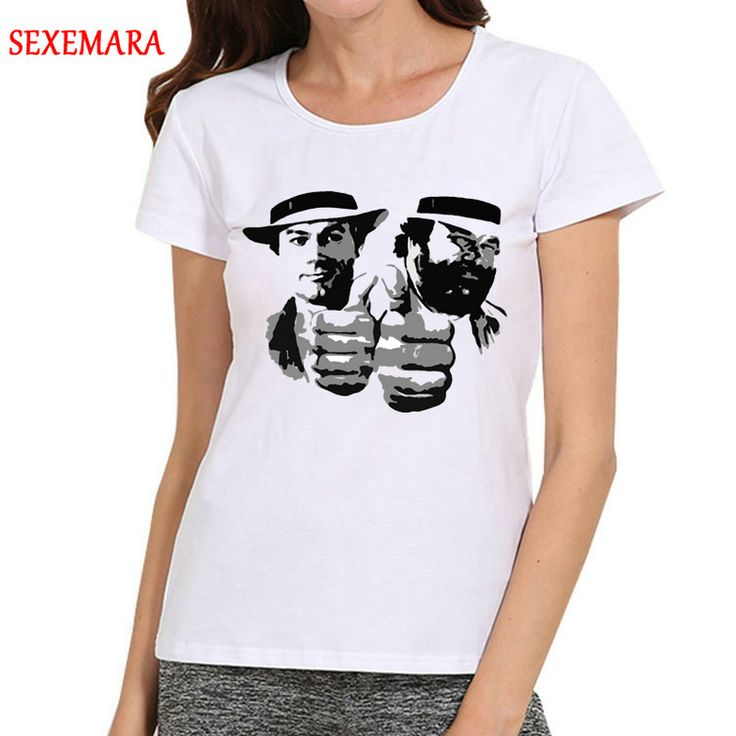 Women Bud Spencer T-Shirt Short Sleeve White Base tshirt Bud Spencer Top Tees T shirt For Ladies. Yesterday's price: US $12.80 (10.58 EUR). Today's price: US $8.70 (7.20 EUR). Discount: 32%.
