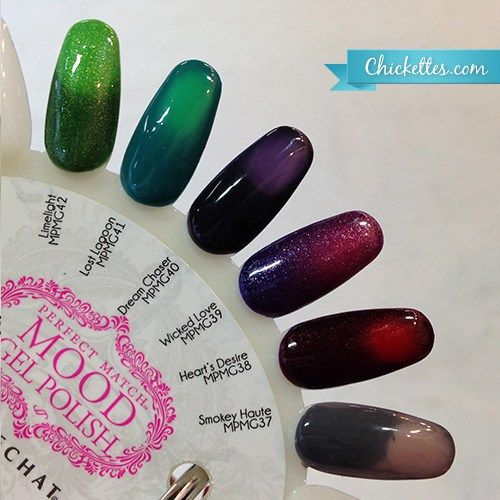 LeChat New Mood Polishes - Fall 2015