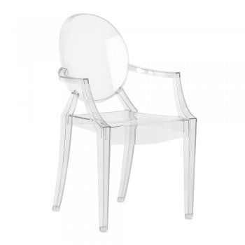 Buy Ghost Style Clear Plastic Chair | Ghost Clear Plastic Armchair