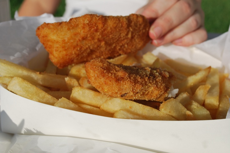 Woody Point Brisbane Fish & Chips - sooooooo good by Deanne Joy