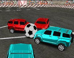 Jocuri cu Masini cu Fotbal 4X4