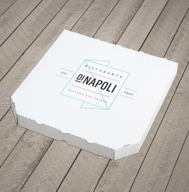 The most beautiful pizza box ever...