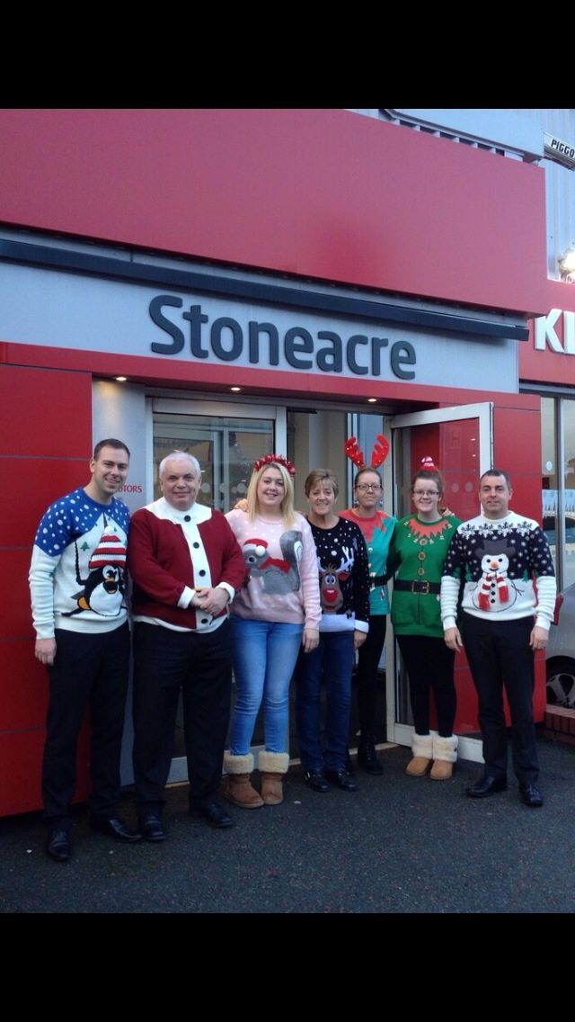 18 best xmas jumper day at stoneacre images on pinterest for Stone acre