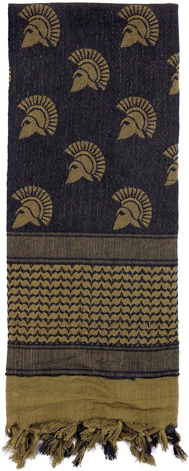A new spin on a classic, Rothco's new Shemagh scarves feature Military, Spartan and Skull patterns. Shemaghs are a traditional desert head-wear that are design