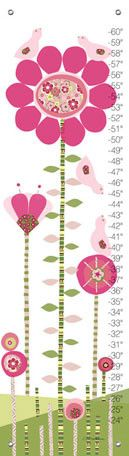 Afternoon Gossip - Pink and Green Growth Charts