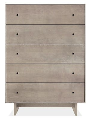 Hudson Dressers with Wood Base Modern bedroom furniture, Dresser