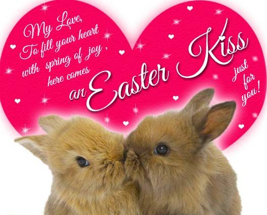 I Forward This Nice Easterkiss To The World. Just Enjoy