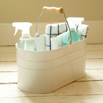 OOH! Classic Utility Bucket that would be decorative AND functional with weekly cleaning supplies.