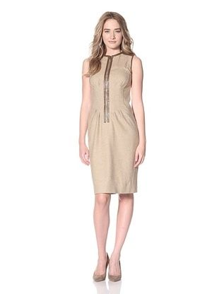 Magaschoni Women's Herringbone Dress