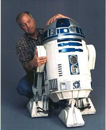 Ben Burtt and R2-D2