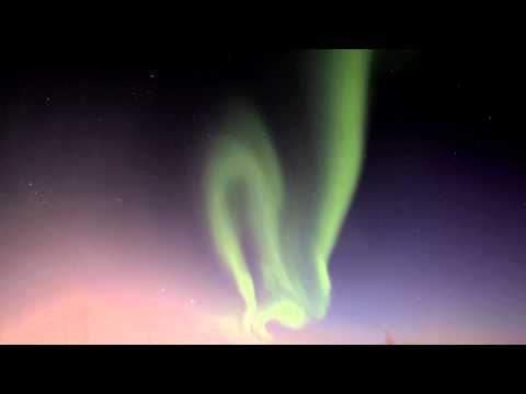 Northern lights in Rovaniemi Lapland Finland