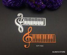 musical note metal cutting dies stencils DIY Scrapbook Card picture frame…