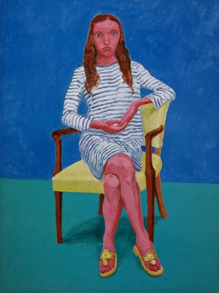 Oona Zlamany - David Hockney