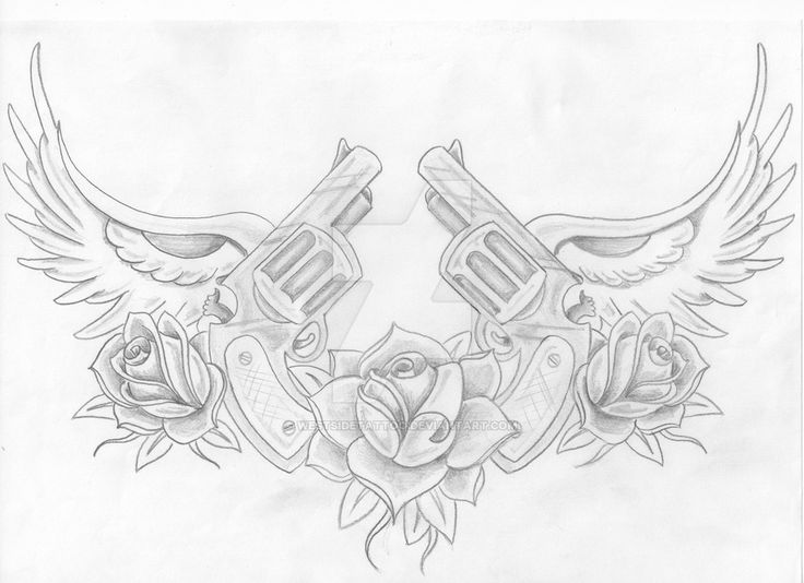 guns n roses by westsidetattoo