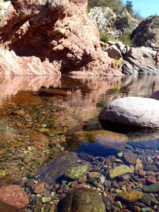 Region de Calvi - Le Fango (Fangu en corse) est un petit fleuve côtier de l'île de Corse. Il coule dans le département de Haute-Corse.