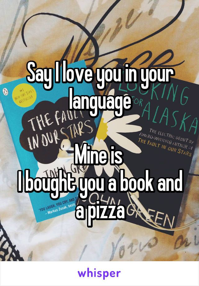 how to say i love you in creek language