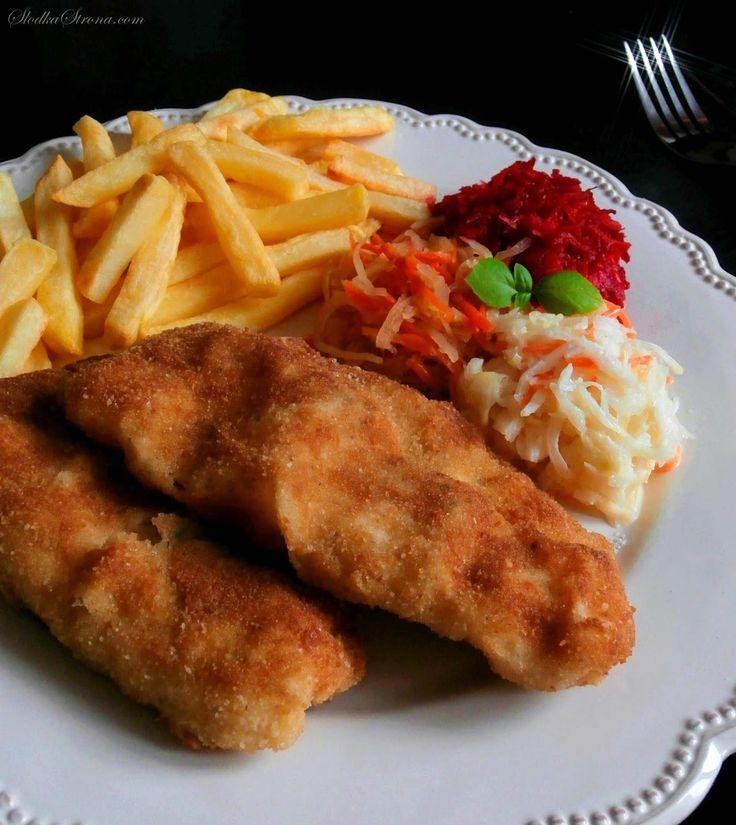 Tradycyjna Smażona Ryba w Chrupiącej Panierce