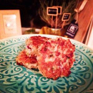 quinoa champignon koekjes