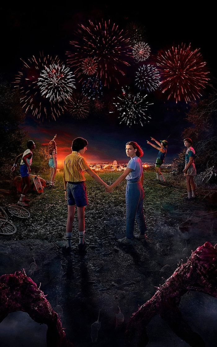 Stranger Things Desktop Wallpaper Mike Eleven Holding Hands Lucas Dustin Max Will Around Them Lo In 2020 Stranger Things Wallpaper Stranger Things Stranger Things 2017