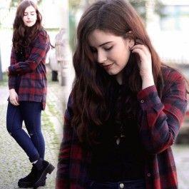 fashion icon Stylish Women Lady\'s Geometric Casual Loose Long Shirt Blouse Tops