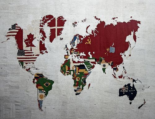 Constantly reminding myself that I want to travel the world and go places. #worldFlags Maps, Wall Decor, Buckets Lists, Art, Random, World Maps, Places, Travel, Things