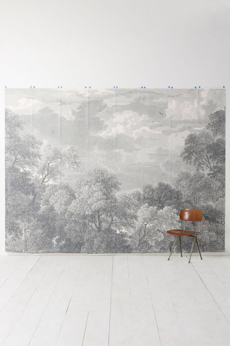 Etched Arcadia Mural - anthropologie.com