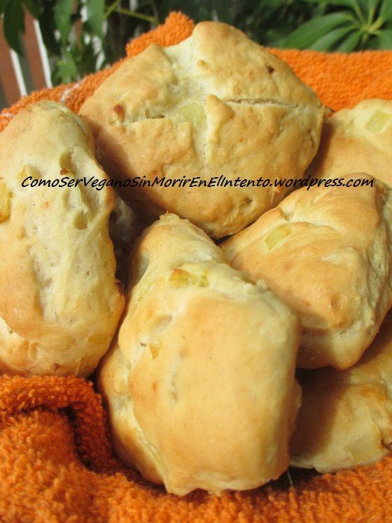 Pan de cebolla y ajo