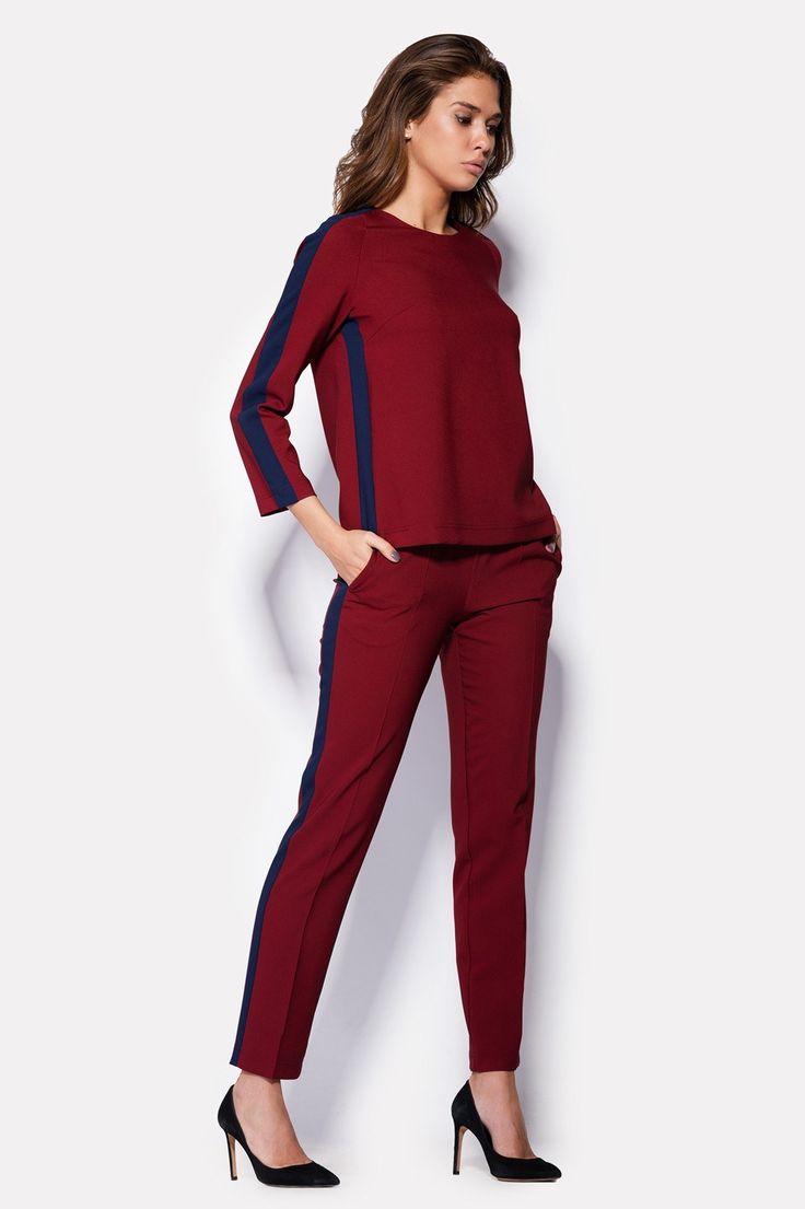 С чем носить брюки и штаны с лампасами: 100 вариантов 2018 с фото
