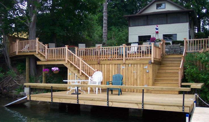 Lake House Decks Decks Are A Great Way To Add Outdoor