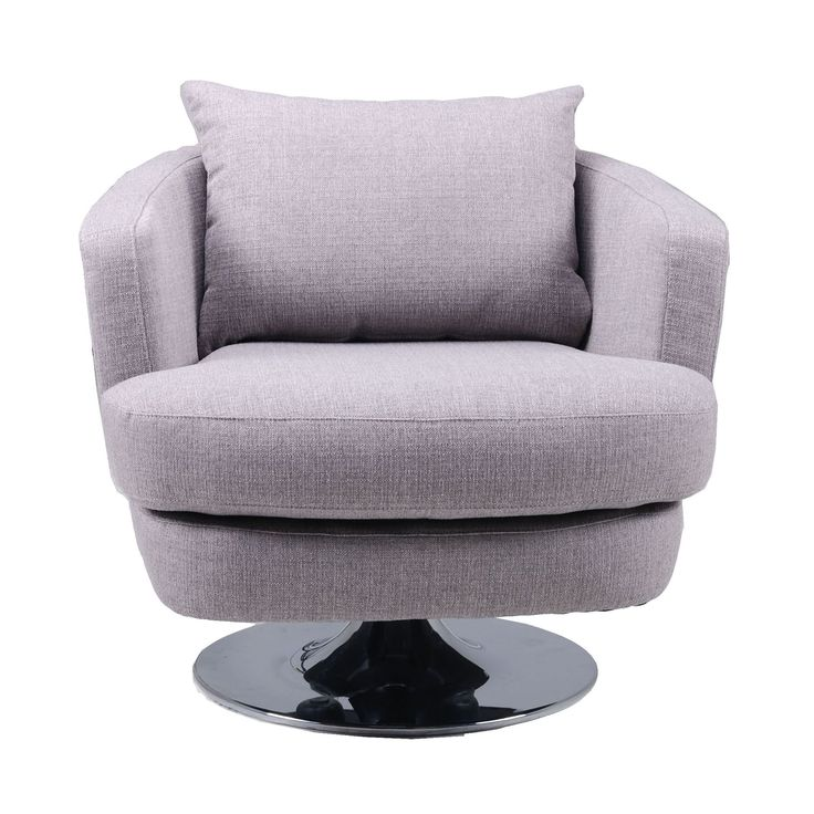This Lush And Comfy Swivel Chair Is Great For Relaxing. The Stylish  Furniture Is Made