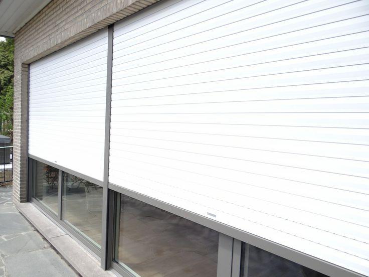 Rolluiken, inbouw, inbouwrolluiken, zonwering, bescherming, pvc, aluminium, hout, alu