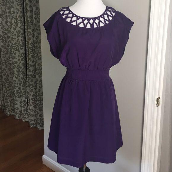 Purple sundress Adorable purple sundress. Lightweight material is perfect for summer. Forever 21 Dresses