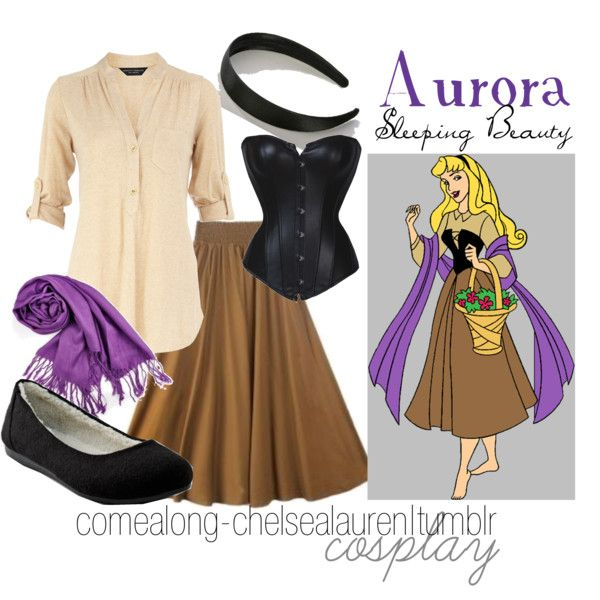 """Aurora - Sleeping Beauty"" by chelsealauren10 on Polyvore"