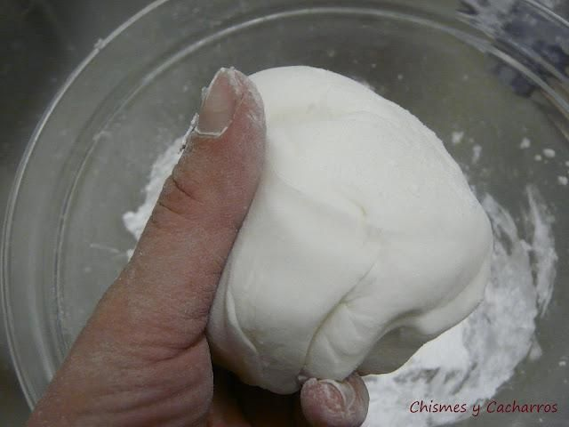 Como hacer Pasta de Goma (paso a paso)